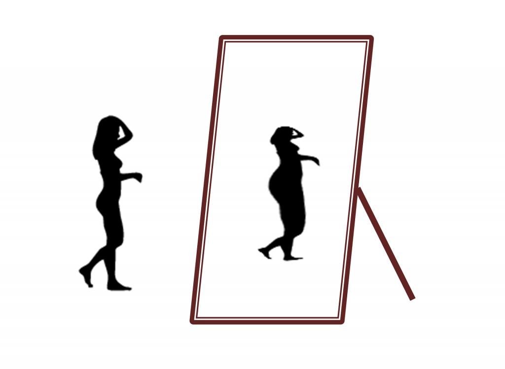 Se regarder dans le miroir mais ne